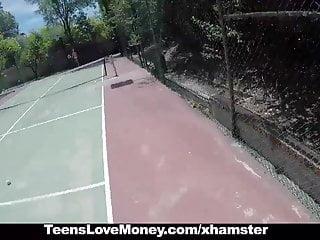 Hardcore tennie porn Teenslovemoney - tennis slut fucks for cash