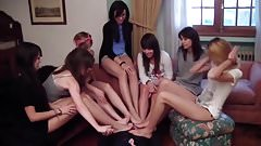 Feet Humiliation Femdom Spanish girls