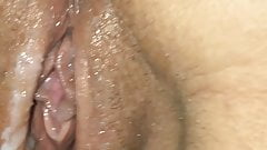 Fucking her dirty pussy