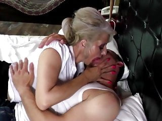 Big old hairy nude grannies - Young boy and old hairy granny fucking