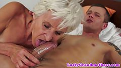 Alluring granny pounded in missionary pose