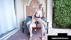 Кубинские толстушки Angelina Castro и белая девушка с Joslyn Jane испытывают оргазмы!