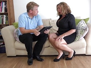 Fibrositic breast - Big breasted mom camilla fucks sugar daddy