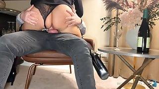 business trip sex with naughty secretary, business-bitch