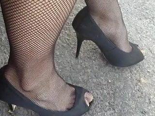 Forced crossdressing fetish - Upskirt crossdresser