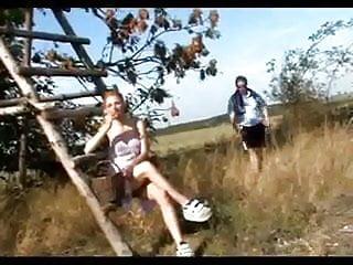Skinny young teens blowjobs - Old man buttfucks redhead teen outdoor