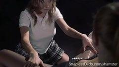 Your Sexy Vampire Vixen In Strapless Dildo Adventures