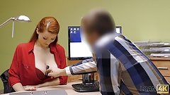 VIP4K. Pet doctor wants to start business so why fucks for