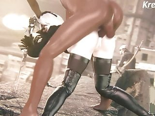 Free rough hentai Nier automata - 2b fucked in the ass. gone rough