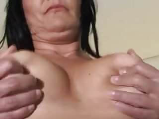 Mature black hair porn Toy cock stuffing mature black haired mommy