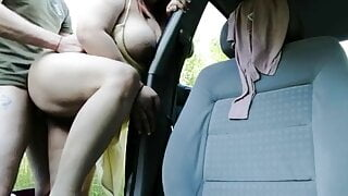 Dogging wife fucked outside
