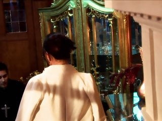 Gay priest video - Randy milf with glasses seduces priest to fuck her hardcore