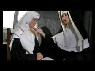 Latex lesbian nun sex Naughty nuns