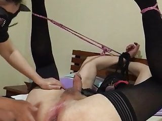 Caught wanking and fucked Slave caught wanking preview 2