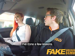 Increasing female sex drive after 50 - Fake driving school redhead lusts after instructors big cock