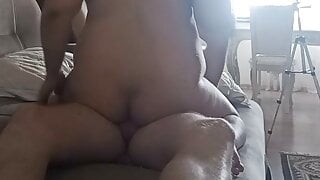 Pregnant wife fucked in front of husband