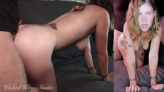 Lavender Joy Session No 1 – Sensual Sex with Hot Young Babe