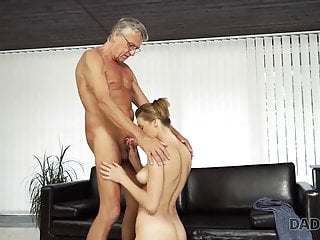 Meture and young sex - Daddy4k. old and young sex in the villa after swimming