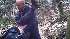 Зрелая азиатка проститутка трахает дедушкой