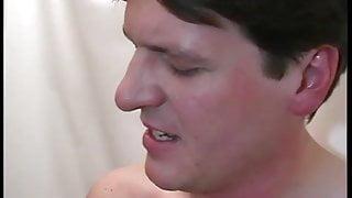 extreme big boob girl in anal gangbang