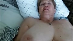 POV - Granny pounded deep in that old pussy