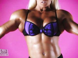 Female bodybuilders who spank Muscular female bodybuilder lisa cross topless video