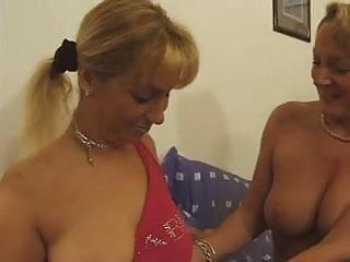 Older lady licks young girls tube - Older french lady getting fisted by a younger girl