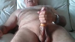 Old man daddy cum on cam 103