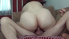 She cums riding, and I love her big ass