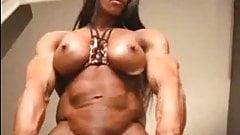 impressive muscle girl