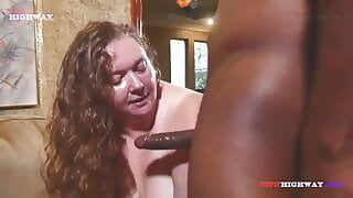 Very sexy bbw fucked by black guy