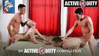 ActiveDuty - Hottest Group Fucks Compilation