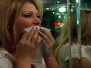 Lesbian nightclubs nyc Lesbian milfs licking pussy in nightclub bathroom.