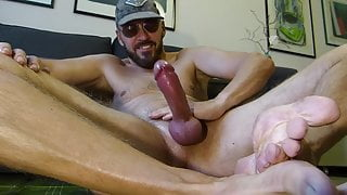 Playing with my cock (5)