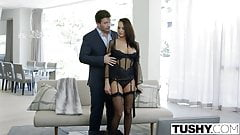TUSHY Big Tit Babe Alektra Blue Assfucked by Huge Cock