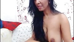 Indian Girl Showing Boobs and Hairy Pussy