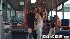 Mofos - Mofos B Sides - Bonnie - Public Sex City Bus Footage