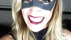 Katie Cassidy in Black Canary costume