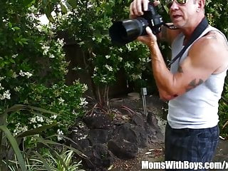 Kristal summers boobs - Oiled-up photoshoot and creampie with milf kristal summers
