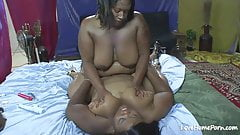 Big ass beauty and her fat friend fucking.mp4