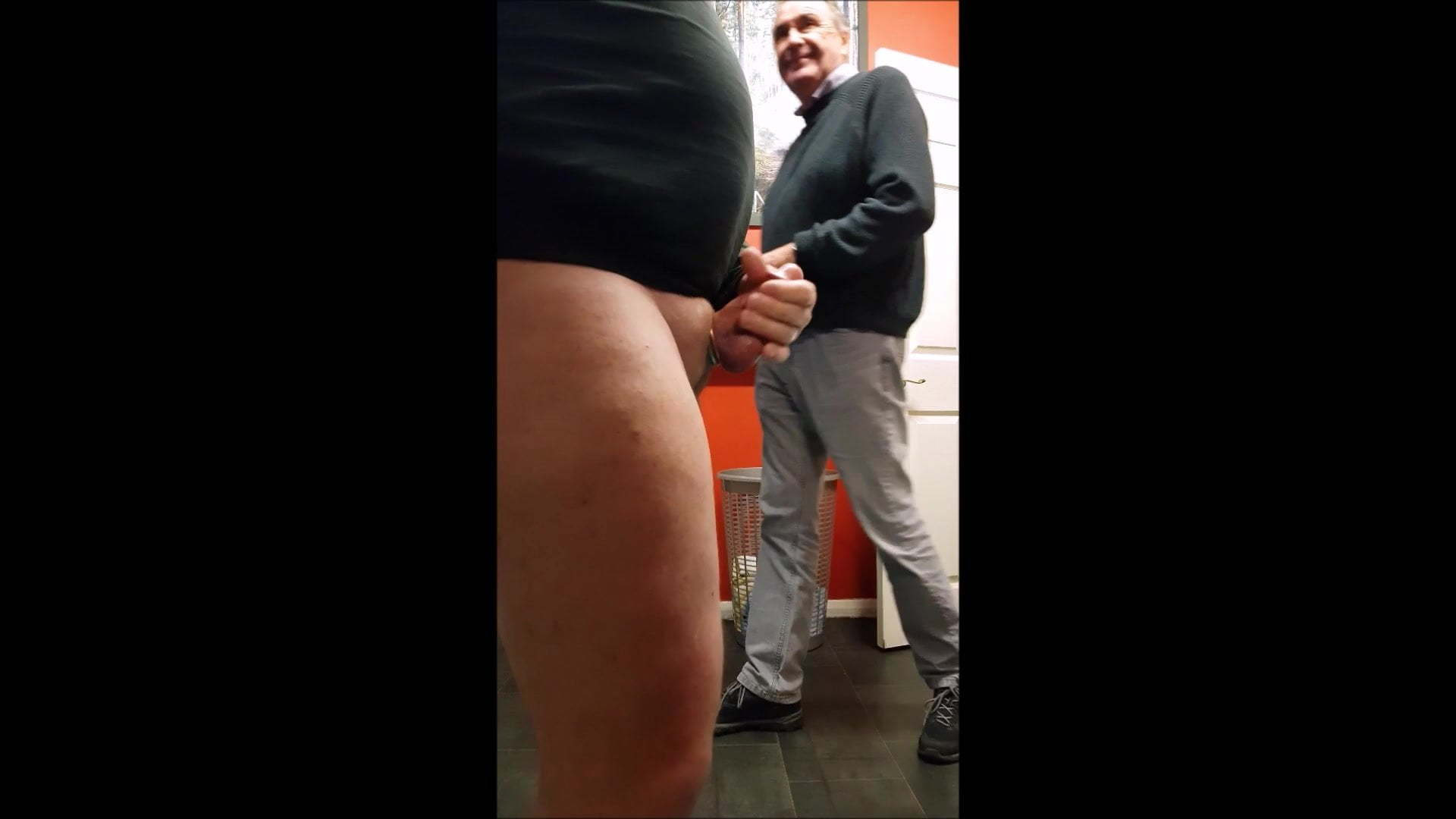 Riding Dildo Changing Room