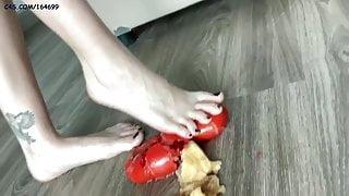 POV Crush Femdom Bare Feet With Mistress Sofi