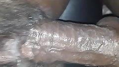 POV von BBC, die nasse schwarze Muschi fickt