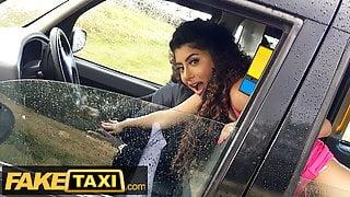 Fake Taxi - Asian Marina Maya gets a taste of a Big Black Cock