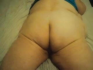 Mature lay My ass laying down