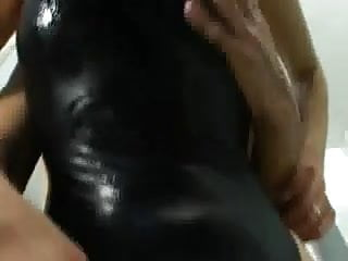 Teens in reaveling swimsuits Asian black swimsuit sex