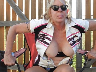 Gto Blondies Weighted Gauge Pierced Nipples In Motion