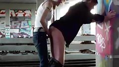 Getting Pegged By Girlfriend In Public Down By The Tracks