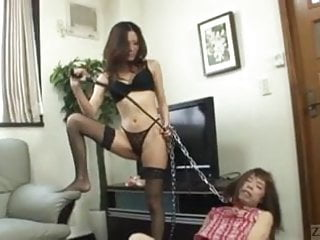 Asian dominatrix tube - Japanese dominatrix brings hell to crossdresser subtitled