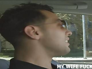 Huge cock sliding into my wife I love watching my wife ride a huge cock
